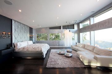 Beverly Hills Private Residence - modern - bedroom - los angeles - Studio One Plaster