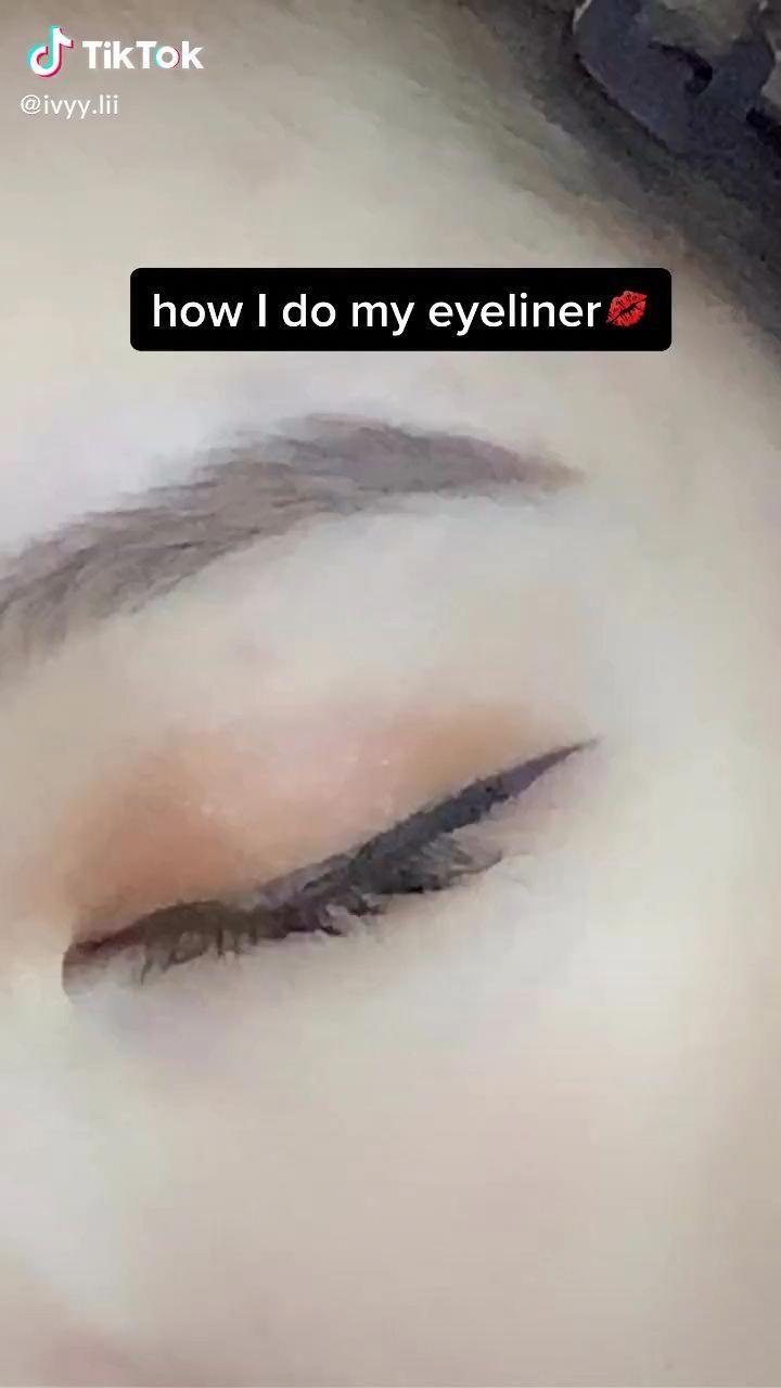 Winged Eyeliner Monolid In 2021 Eye Makeup Makeup Tutorial Eyeliner Winged Eyeliner Tutorial