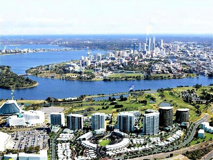 View of Burswood Casino & City