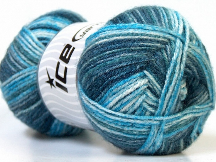 Alpaca Color Nuances de bleus