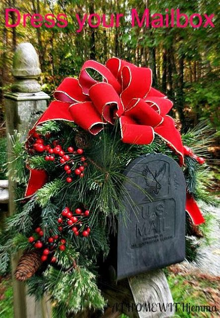 Christmas Decorations Red Bows : Perfect decorating home the