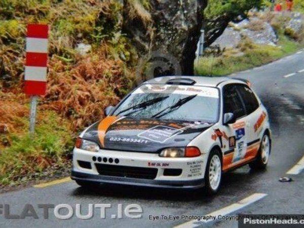 Honda Civic Eg For Sale In Kerry On Honda Civic Rally Car