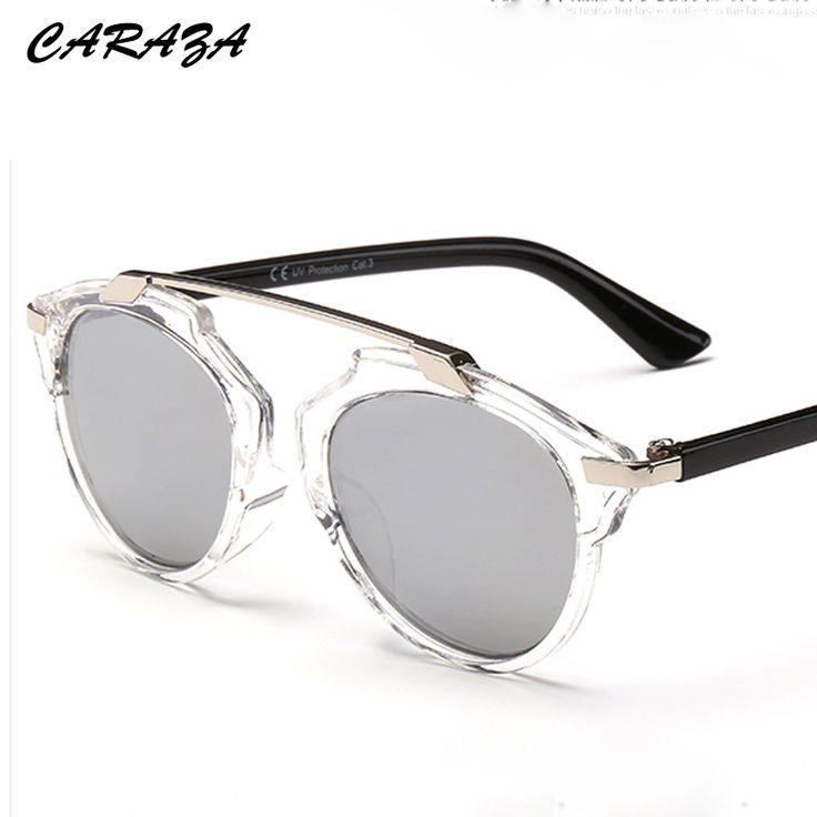 Retro Lunettes de Soleil de Mode Métal Ladies Polarized Film True Sunglasses , Cadre en Or, Tranches D'Orange
