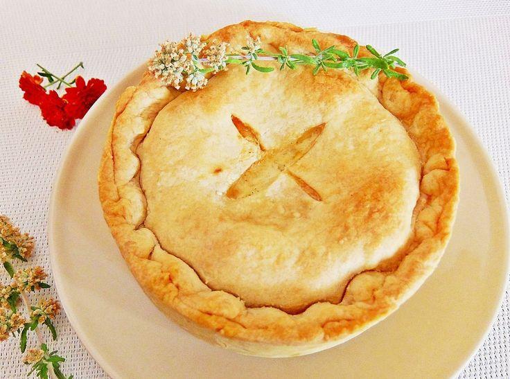Chicken Pie: Pastel de pollo al estilo inglés. ¡Es espectacular!