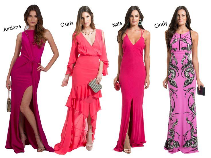 POWERLOOK - Aluguel de Vestidos Online – O Pink voltou com tudo! Muitas vezes associada ao romantismo, esta cor ganha um novo sentido: PODER E ESTILO!! Olha que lindos os vestidos Jordana, Osiris, Nala e Cindy! Inspire-se #alugueldevestidos #powerlook #madrinha #casamento #festa #party #glamour #euvoudepowerlook #dress #dreams #arrase #alugue #devolva #modaconsciente #pink #rosa #jordana #osiris #nala #cindy