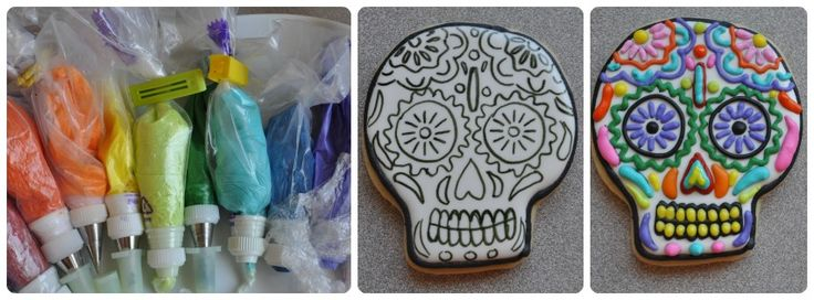 ... Day of the dead on Pinterest | Halloween cookies, Cookies and The dead