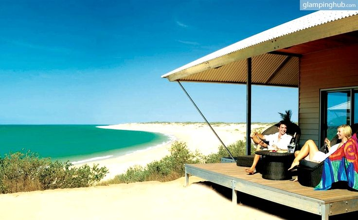 Australia = Luxury Tents in Broome with Oceanfront, Walk to Beaches.