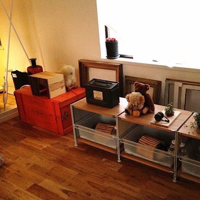 収納/見せる収納/窓辺/アンティーク/ペットハウス/ぬいぐるみ…などのインテリア実例 - 2013-08-09 20:25:37 | RoomClip(ルームクリップ)