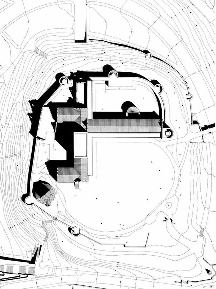 Giorgio Grassi | Reconstrucción del Castillo Valkhof | Nimega, Holanda | 1997