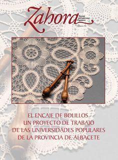Número 59 de la revista de tradiciones populares, dedicada en esta ocasión al encaje de bolillos.