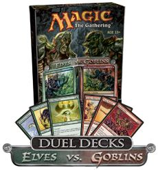 #mtg #magicthegathering Elves vs. Goblins Duel Deck MtG Magic the Gathering