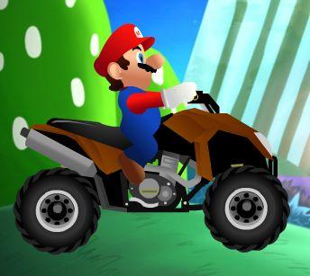 Super Mario Atv Rush - Jocuri cu Mario