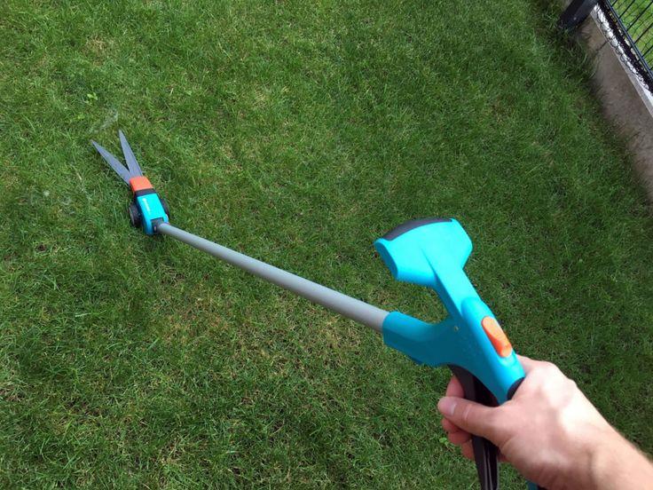 Die Grasschere mit Teleskopstiel sorgt für Komfort bei der Gartenarbeit. Kein lästiges Bücken mehr beim Schneiden der Rasenkanten - herrlich!
