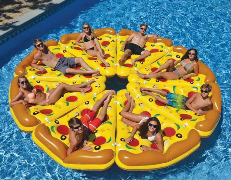 2016 Pizza Inflatable Floats Cute Outdoor Fun Sport Toy 180cm Swimming Pool Air Raft Floats For Summer Inflatable Swimming Float Fds626 From Kinglily0, $68.07 | Dhgate.Com