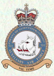 No 501 Squadron Badge