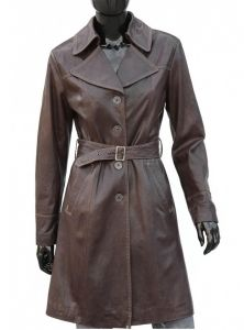 Płaszcz skórzany damski DORJAN KRN255
