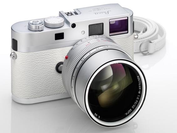 Leica M9-P. Limited edition in white.