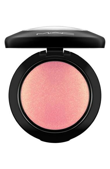 Mac-Mineralize blush-petal power.. (Coral pink with gold shimmer)In Love with this color