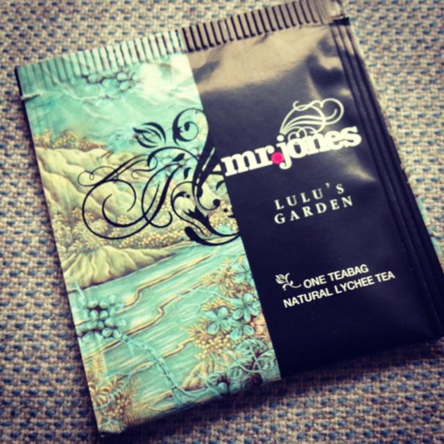 Mr.jones #tea, tasty & pretty #package #design