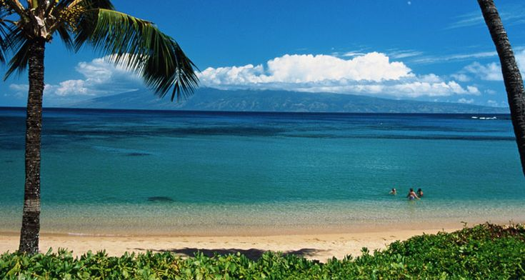 Napili beach on Maui.  One of the best family vacation spots.