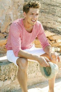 Men beach fashion style