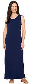 Liz Claiborne New York Essentials Regular V-Neck Maxi Dress