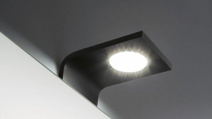 #Curva di @antoniolupispa è un gioiello di puro design: lampada da specchio a led senza necessità di un trasformatore: http://www.inbenessere.it/2014/08/72446/