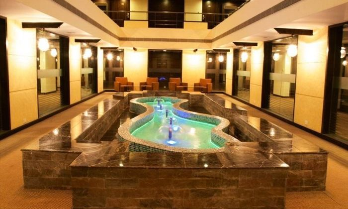 Orient Spa is the in-house spa in all Cambay Hotels Resorts. It is a beauty and wellness retreat that offers a variety of spa therapies, authentic ayurvedic treatments, hydrotherapy, international massages, body scrubs amongst others. The experienced therapists use warm natural herbs and oils in all their treatments. For more know http://www.theorientspa.com/