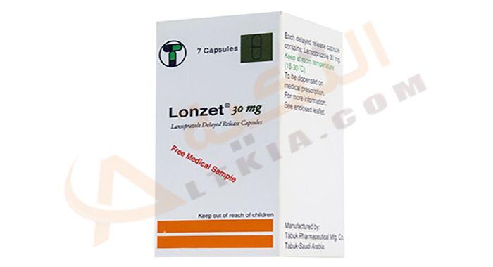 لونزت Lonzet كبسولات لعلاج قرحة المعدة والإثني عشر هذا الدواء من الأدوية الفعالة في علاج قرحة المعدة والإثني عشر ويرجع سبب الإ Capsule Personal Care Person