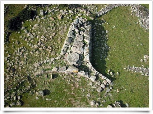 Tomba dei Giganti Sa Domu 'e S'Orcu Localizzazione: Sa Fogaia - Altipiano di Siddi Sardegna, Sardinia