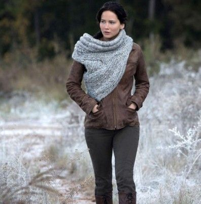 Katniss hunting cowl - Shortrounds Knitwear