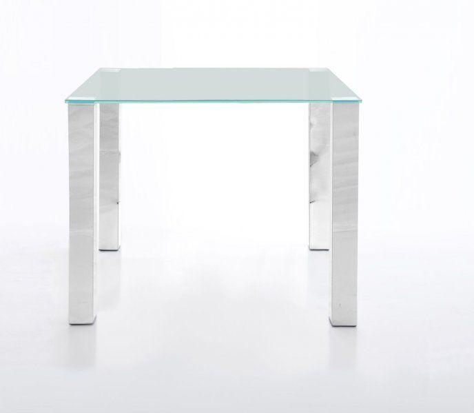 Szklany stolik 90x90 cm H000008313 - Sanit-Express™