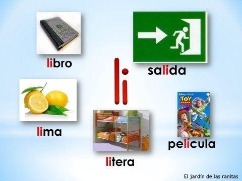 # 5 Sílabas la le li lo lu - Syllables with L