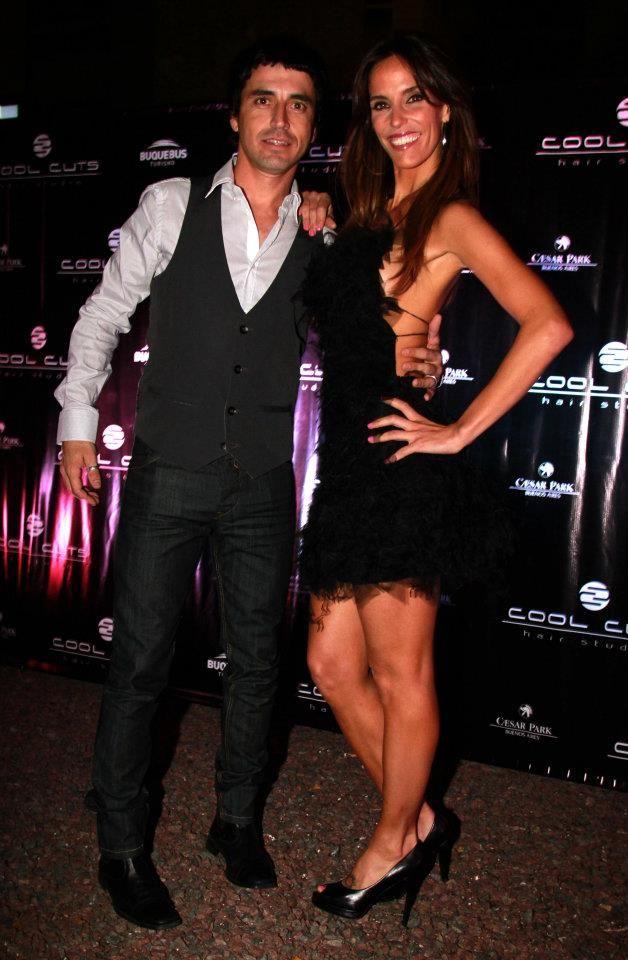 Alvaro junto a Maria Susini
