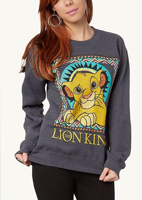 Simba Sweatshirt | Sweatshirts & Hoodies | rue21