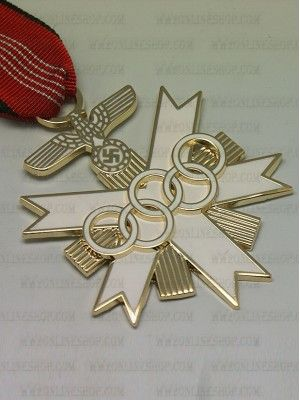Replica of  German Olympic Decoration 2nd Class