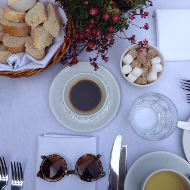 Alfresco dining table at Hotel Du Vin