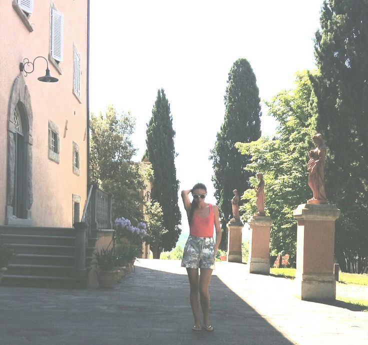 Summer fashion Tuscany