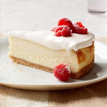 This delightful Vanilla Mousse Cheesecake from @Philadelphia Jackman Cream Cheese is topped with a fluffy, whipped layer of yum!  #cheesecakecheer