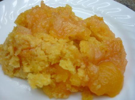 Easy Peach Dessert Recipe   Peach Desserts   Pinterest