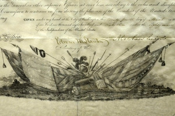 Lost Lincoln document found at central Pa. college