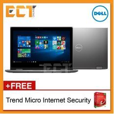 "Dell Inspiron 13 5368T 2 in 1 Notebook (i7-6500U,256GB  SSD,8GB,13.3""FHD IPS Touch,W10)"