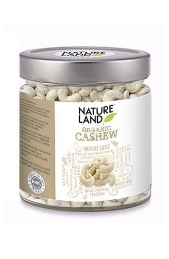 Natureland Organic Cashews are a produce of western ghat lush green forests in form of Cashew apple and Cashew Seed Cashews are not actually nuts but seeds. The shell of the cashew nut is toxic which is why the nut is never sold in the shell to consumers.