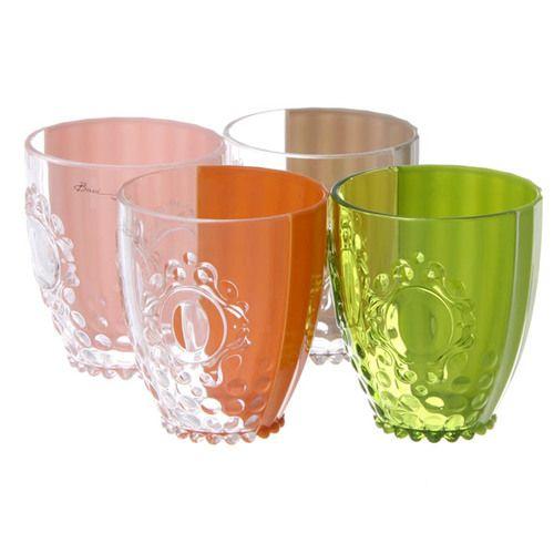 【楽天市場】Baci Milano バーチ ミラノ Baroque & RockNew  (Glass) アクリルセパレートウォーターグラス [ROKGLAS.BAR15] Pink(ピンク):muy mucho ムイムーチョ楽天市場店