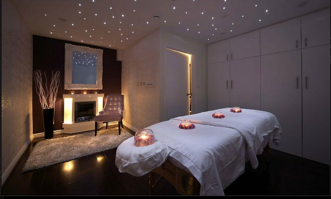 Massage Room With Star Like Ceiling Lights Come To Fulcher 39 S Therapeutic Massage In Imlay City