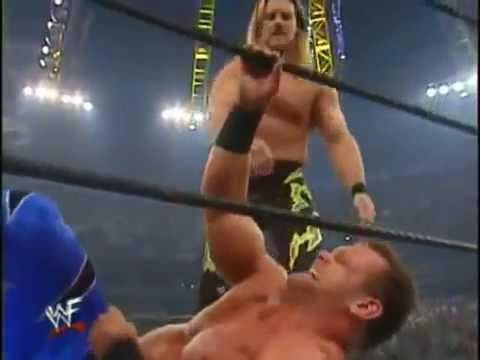WWE Royal Rumble 2001 - Chris Jericho Vs Chris Benoit