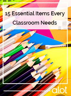 Hey, teachers: these are the items your classroom needs.