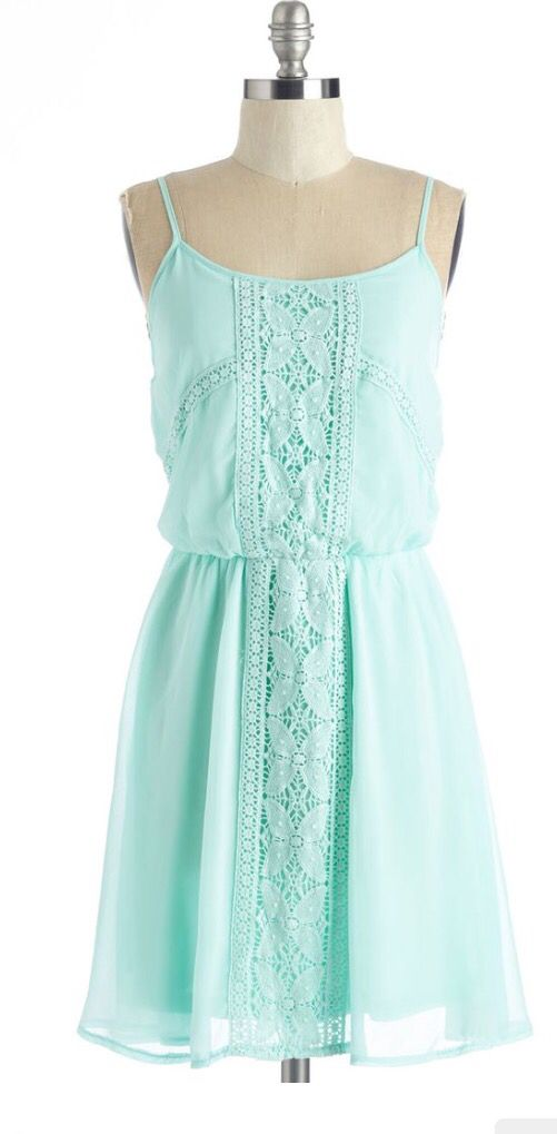 Love love love this mint/Aqua summer sun dress!  Want! Stitch fix spring summer 2016