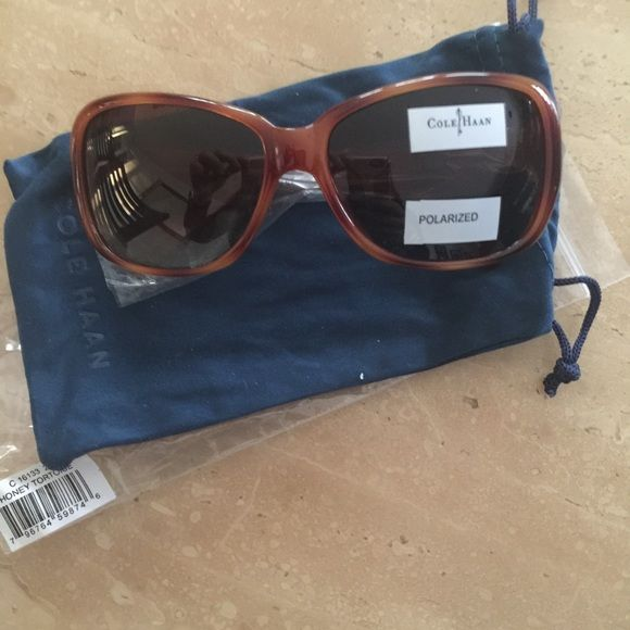 ⚡️Saturday sale⚡️new Cole Haan sunglasses Brand new Cole Haan oversized honey tortoise sunglasses- no further discount unless bundled Cole Haan Accessories Sunglasses