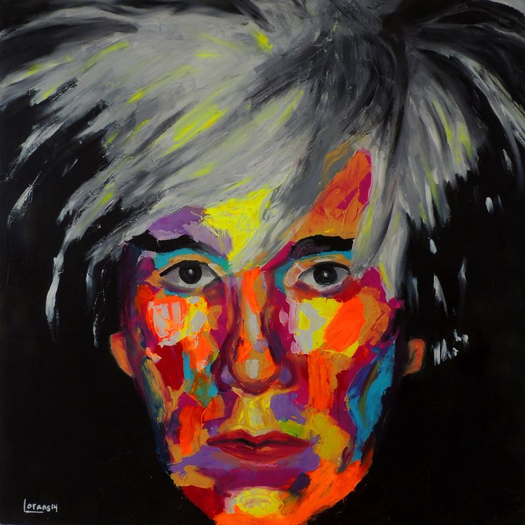 Oil on canvas Andy Warhol